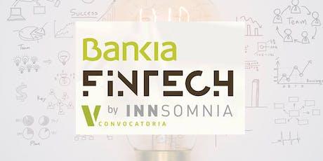 Afterwork V CONVOCATORIA BANKIA FINTECH by INNSOMNIA en BARCELONA entradas