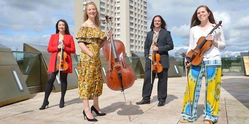 Concerts in Crieff -  Brodick Quartet