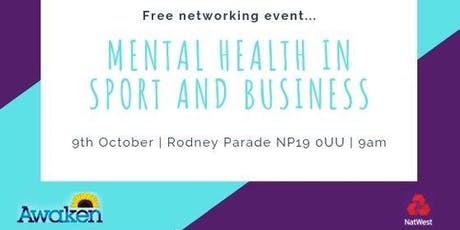 Mental Health in Sport and Business tickets