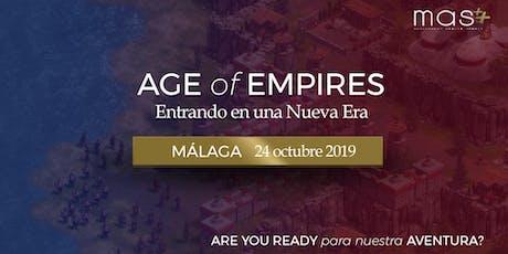 Entrando en una Nueva Era: Málaga entradas