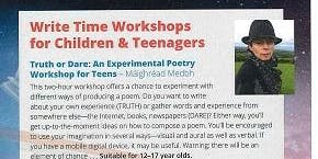 Truth or Dare: An Experimental Poetry Workshop for Teens