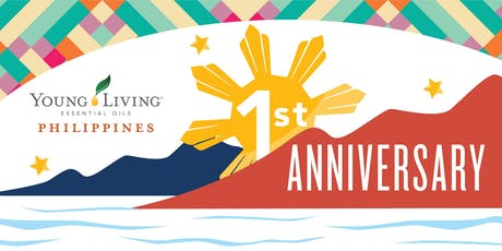 Young Living Philippines First Anniversary tickets