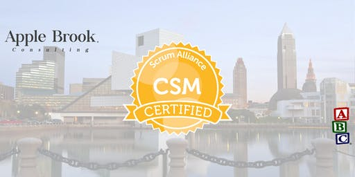 Certified ScrumMaster® (CSM) - Cleveland, OH - January 9-10