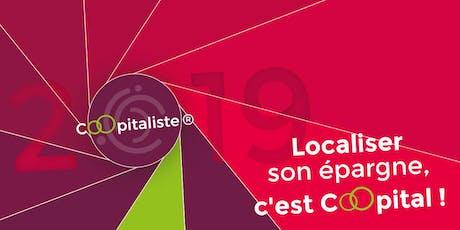 Soirée information Coopitaliste 2019 : Localiser son épargne, c'est Coopital ! billets