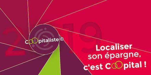 Soirée information Coopitaliste 2019 : Localiser son épargne, c'est Coopital !