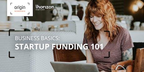 Business Basics: Startup Funding 101 tickets