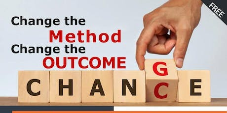 Change the method, Change the outcome tickets