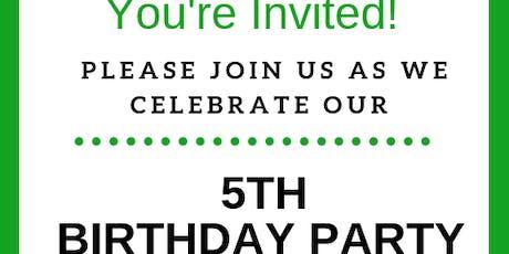 ScenterBarks Doggie Daycare 5th Birthday Party tickets
