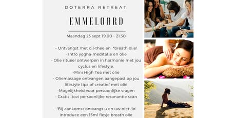 dōTERRA Retreat Emmeloord 23 september tickets