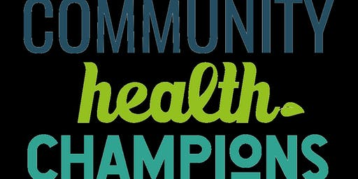 Community Health Champions - New Volunteers