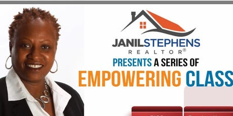 Janil Stephens present a two part series of Life Empowering classes tickets