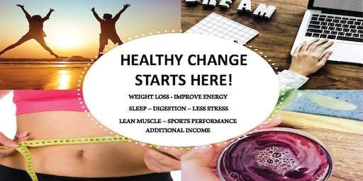 Healthy change starts HERE!