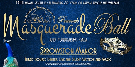 FAITH Animal Rescue Peacock Masquerade Fundraising Gala tickets