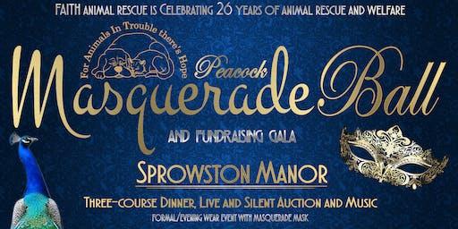 FAITH Animal Rescue Peacock Masquerade Fundraising Gala