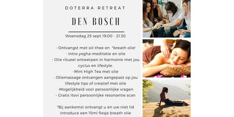 dōTERRA Retreat Den Bosch 25 september tickets