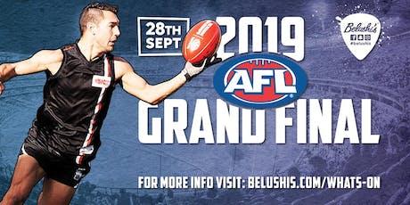 AFL Grand Final 2019 at Belushi's Alexanderplatz Tickets