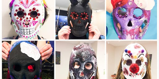 Mini Camp (Mask Making) (Ages 7-14) (SCHOOL BREAK DAY CAMPS)