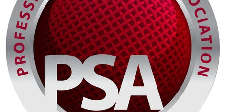 PSA Ireland October 2019 Event tickets