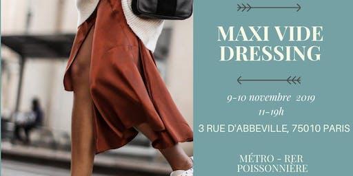 Maxi vide dressing - Poissonnière