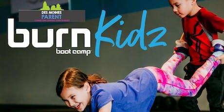 BURN Kidz Camp tickets
