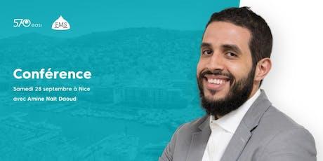 Conférence à Nice : les principes de la finance islamique billets