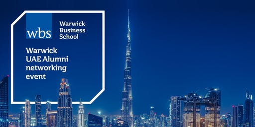 Warwick UAE Alumni - Careers panel and networking evening - Dubai