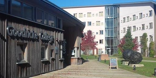 Goodricke College : Welcome Meal