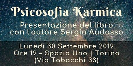 """Aperitivo Letterario: presentazione del libro """"Psicosofia Karmica"""" biglietti"""