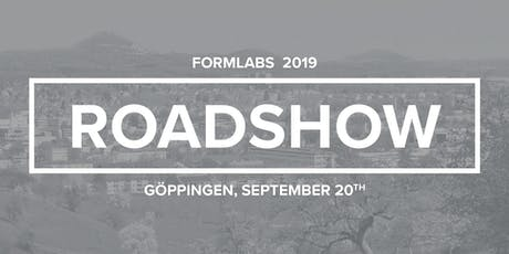 Formlabs-Roadshow bei 3Dmensionals  in Göppingen (bei Stuttgart) Tickets