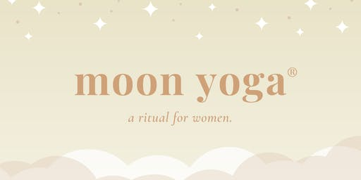 MOON YOGA ◠ a ritual for women.