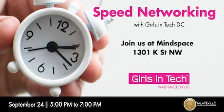 Speed Networking with Girls in Tech DC tickets