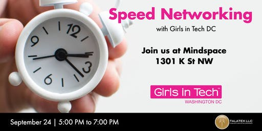 Speed Networking with Girls in Tech DC