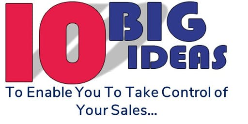 Take Control of Your Sales (part 2)...