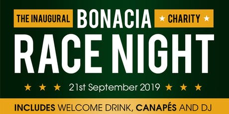 Bonacia's Charity Horse Racing Night tickets
