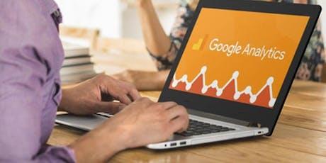 Search Engine Optimisation and Google Analytics - Shrewsbury tickets