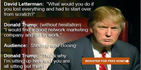 Why does average network marketers suffers but TOP network marketers WINS? tickets