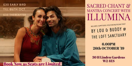 Sacred Chant and Mantra Concert with Illumina tickets