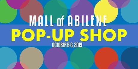 Mall of Abilene Pop Up Shop tickets