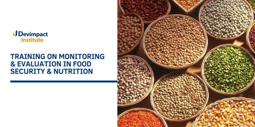 Training on Monitoring and Evaluation in Food Security and Nutrition