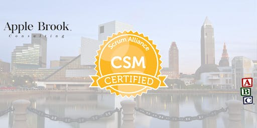 Certified ScrumMaster® (CSM) - Cleveland, OH - April 22-23