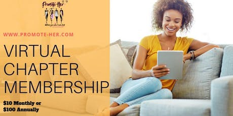Promote-Her Virtual Chapter Membership tickets