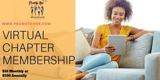 Promote-Her Virtual Chapter Membership