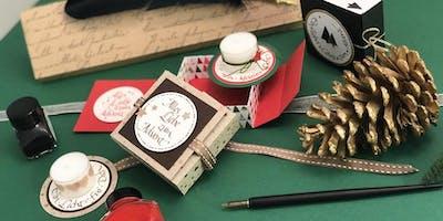 Adventsbox kalligrafisch gestalten | Workshop