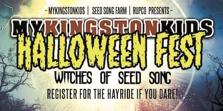 MyKingstonKids Halloween Fest 2019/Hayride Registration tickets