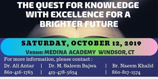 The Quest for Knowledge with Excellence  for a Brighter Future