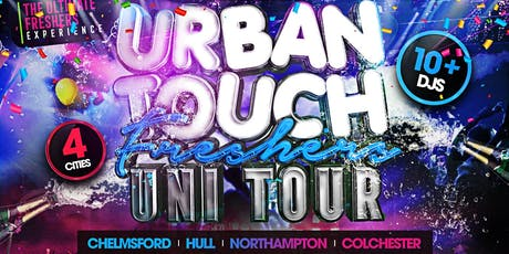 URBAN TOUCH ARU FRESHERS PARTY BACK 2 SCHOOL PARTY tickets