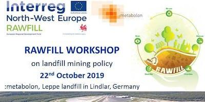 Landfill mining policies workshop at Leppe (Germany), October 22, 2019