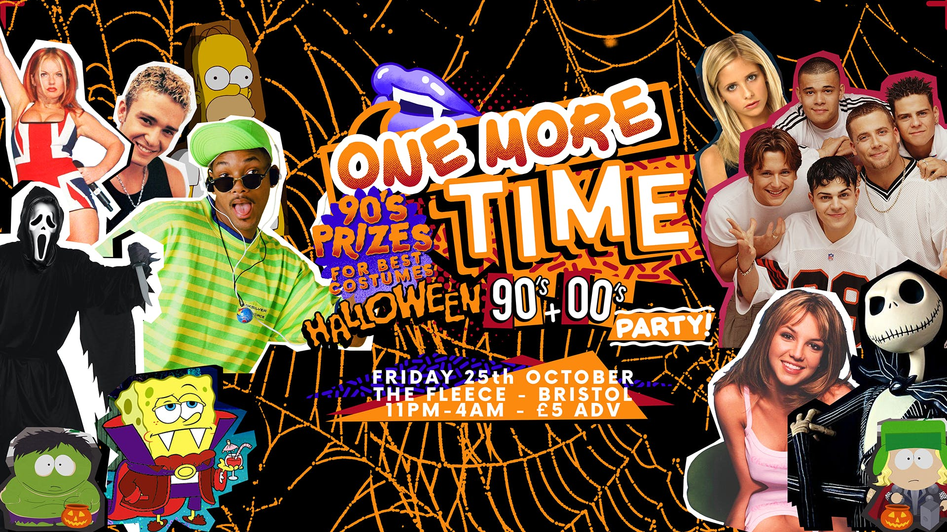 One More Time - Halloween 90s & 00s Party