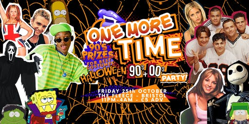 One More Time - Halloween 90's & 00's Party