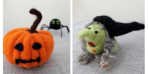 Needle Felting Workshop - It's Halloween (Adult Course)